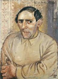 Otto Dix, 'This is Jankel Adler', 1926