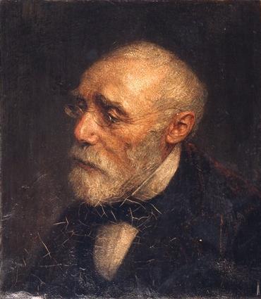 Jozef Israëls by Jan Veth (image courtesy of WikiArt)