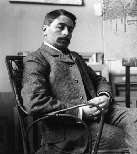Henri Lebasque c.1900. Photo credit: Paul François Arnold Cardon a.k.a. Dornac (1858–1941)