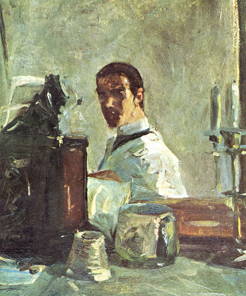 Self-portrait, 1882-3