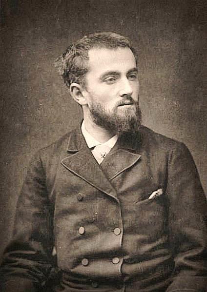 Photograph of Norbert Goeneutte (credits: Wikipedia)
