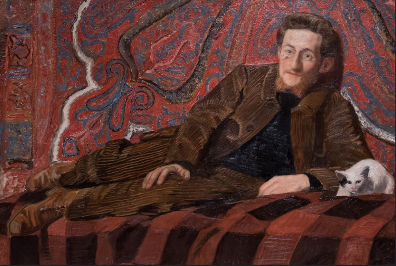 Portrait of Jean Puy by Jules Migonney. (Photo credit: Flickr)