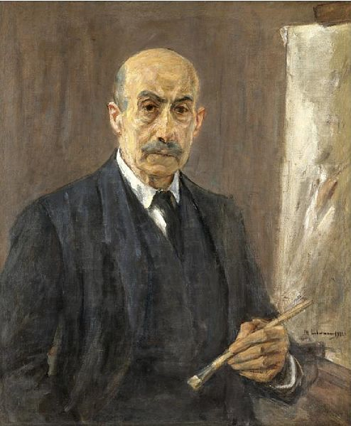 Max Liebermann, 'Self Portrait', 1922, Private Collection