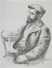 Pierre-Auguste Renoir, 'Portrait of Louis Valtat', c. 1904