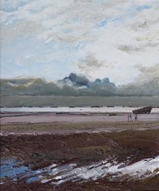 Hugues Pissarro dit Pomié - Marée Basse - Arromanches