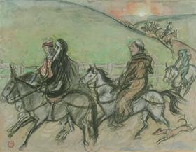 Orovida Pissarro - Pilgrims