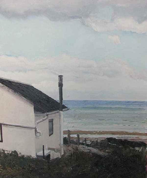 Le Cabanon de Colleville-sur-Mer - Hugues dit Pomié Pissarro (b. 1935 - )