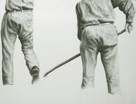 Yvon Pissarro - Farmhands<br />