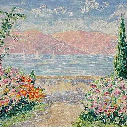 Series - South of France<br /> - Lélia Pissarro, Early Figurative (b. 1963)