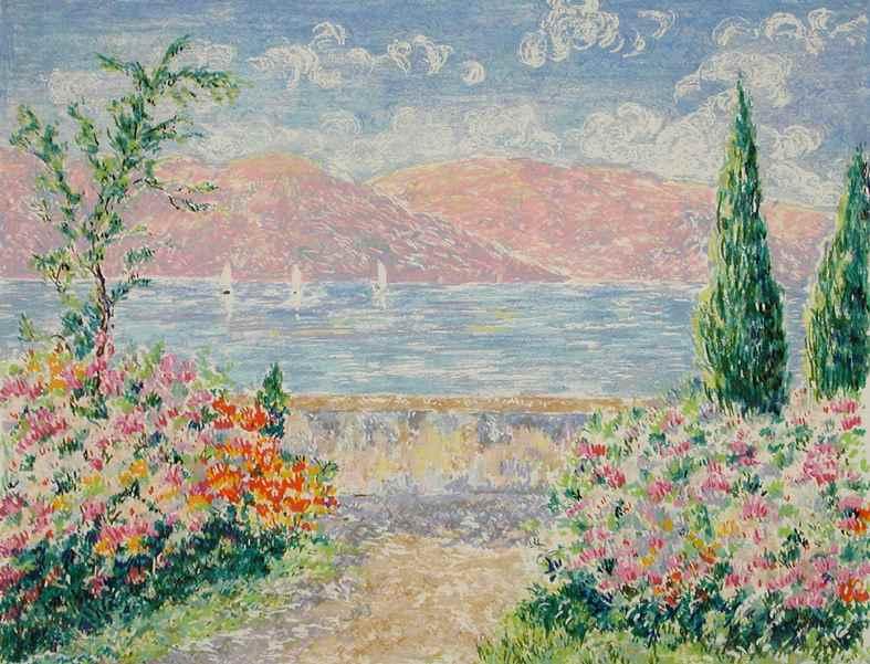 Series - South of France - Lélia Pissarro, Early Figurative (b. 1963)