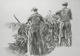 Yvon Pissarro - Farmhands