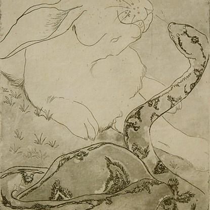 Fear - Orovida Pissarro (1893 - 1968)
