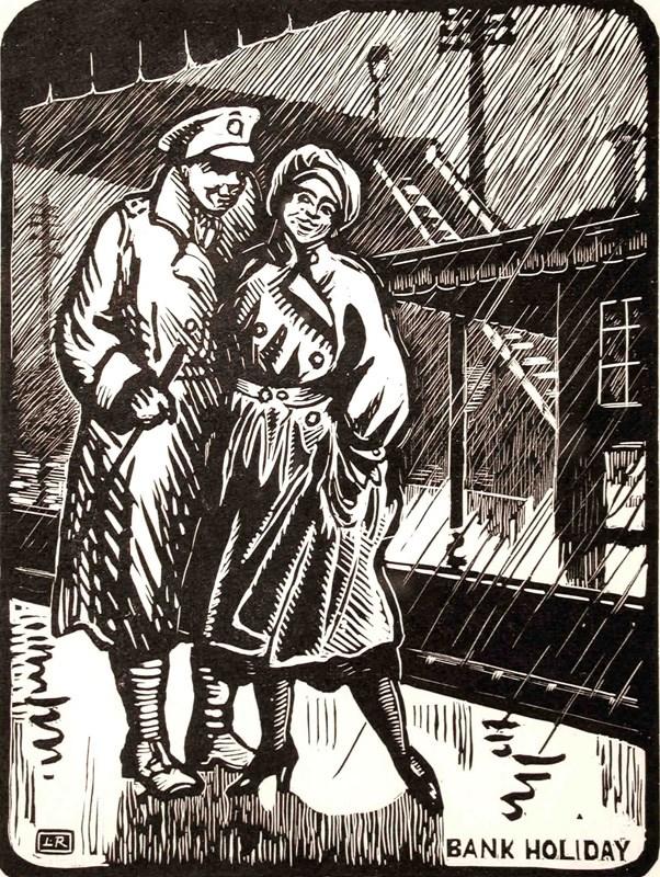 Bank Holiday - Ludovic-Rodo Pissarro (1878 - 1952)