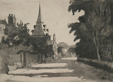 Paulémile Pissarro - Le Village de Landel