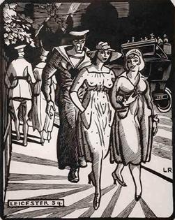 Ludovic-Rodo Pissarro - Leicester Square, London