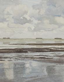 Hugues Pissarro dit Pomié - Petite Marine Grise