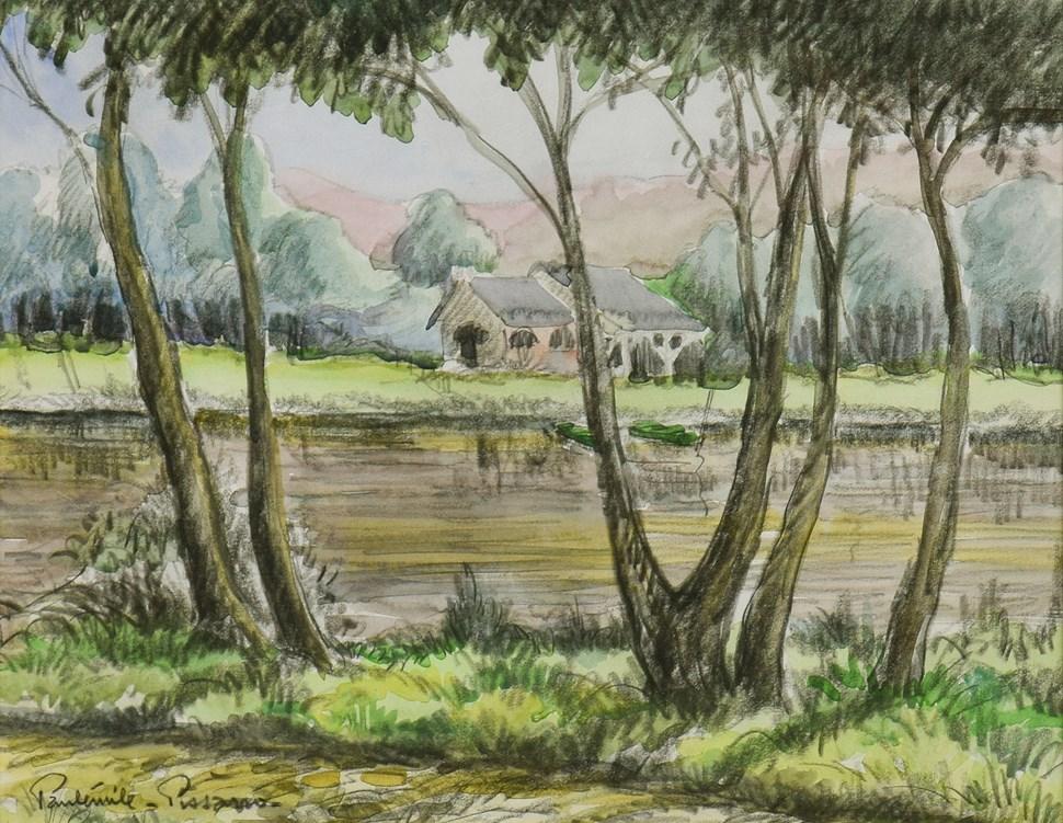 Les Deux Barques - Paulémile Pissarro (1884 - 1972)