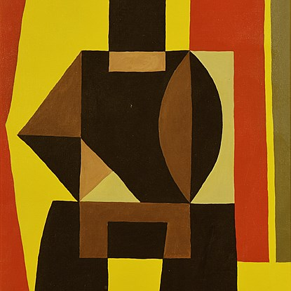 Composition - Léon Gischia (1903 - 1991)