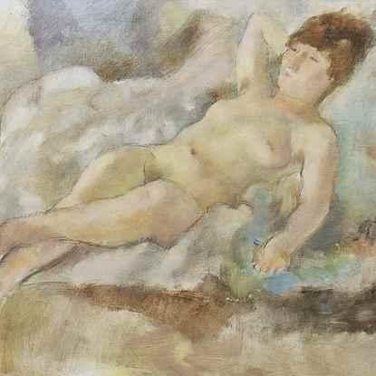 Rebecca Couchée - Jules Pascin (1885 - 1930)