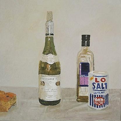 Petit Saint-Véran et Boîte de Sel - Hugues  Pissarro dit Pomié (b. 1935 - )