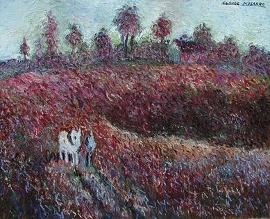 Hugues Pissarro dit Pomié - Le Petit Cheval Blanc