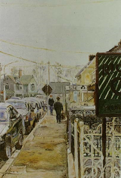Ulster Bank - Hugues  Pissarro dit Pomié (b. 1935 - )