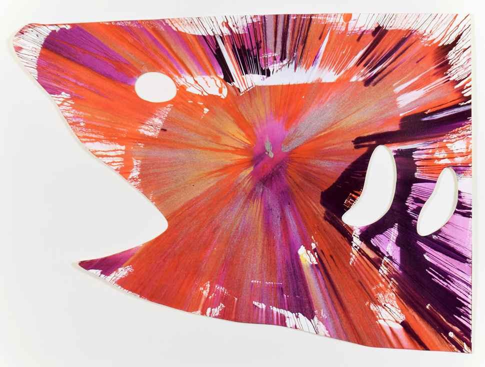 Shark Spin - Damien Hirst (b. 1965 - )