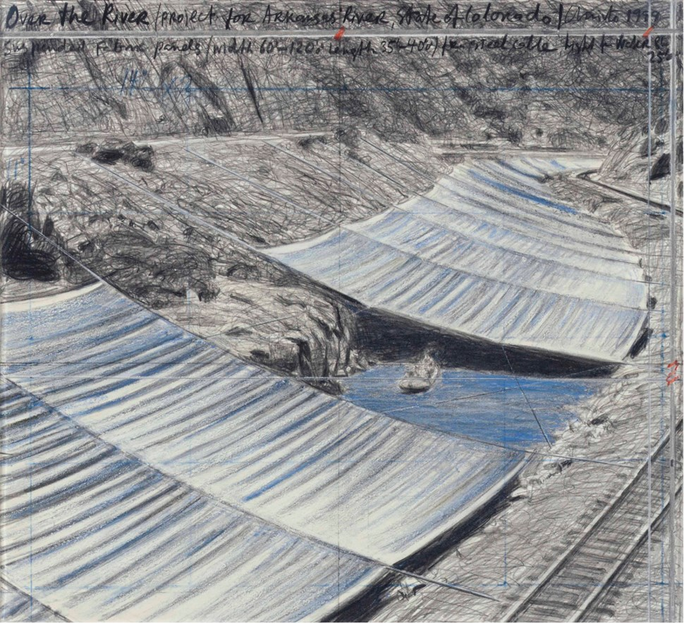 Over the River (Project for Arkansas River State of Colorado) - Christo (1935 - )