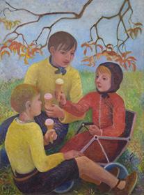 Orovida Pissarro - Ice Cream Picnic