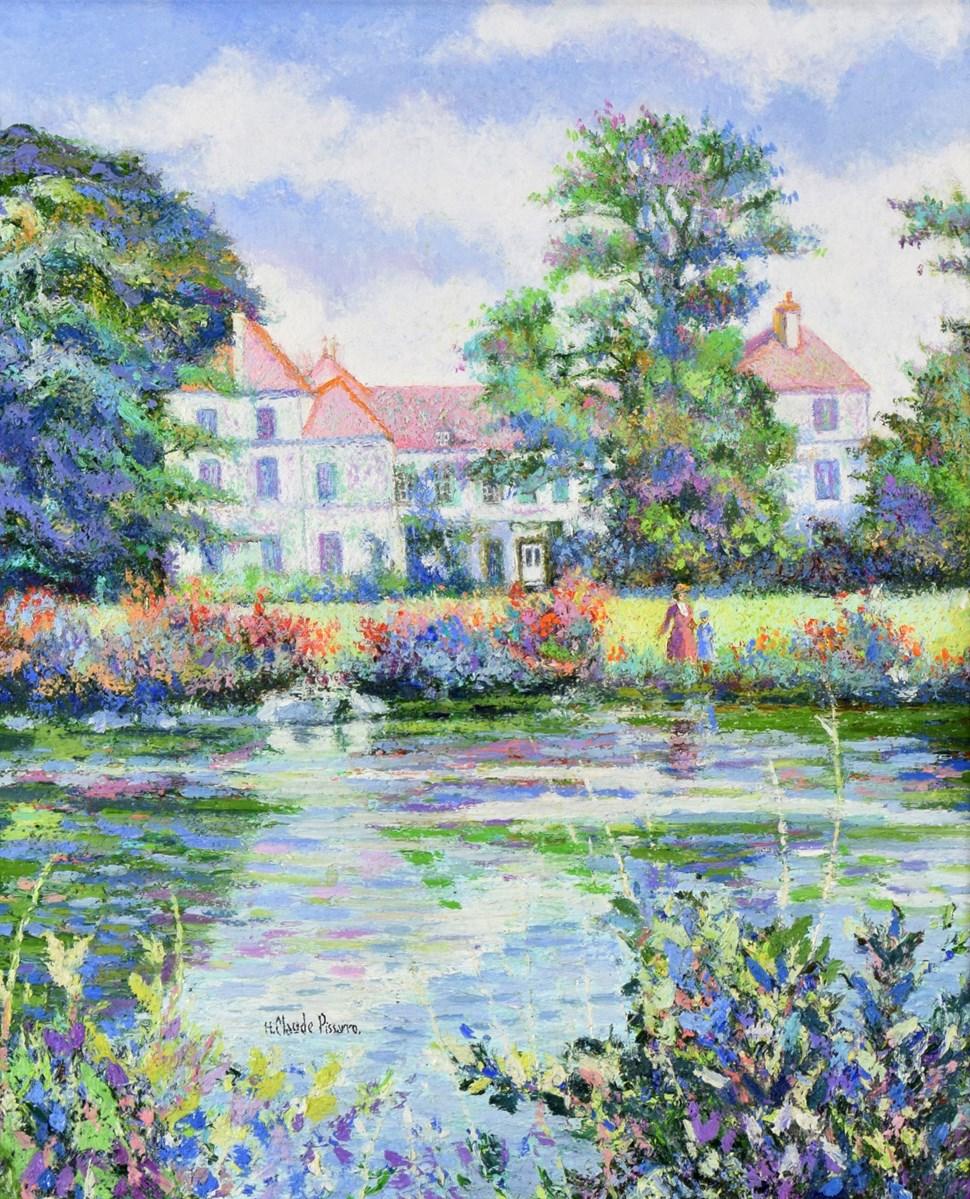 Le Manoir de l'Artiste à Berjou - H. Claude Pissarro (b. 1935 - )