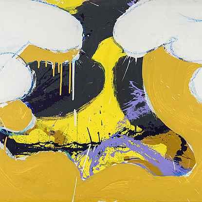 Jocasta - Norman Bluhm (1921 - 1999)