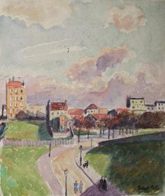 Ludovic-Rodo Pissarro - Paysage Parisien