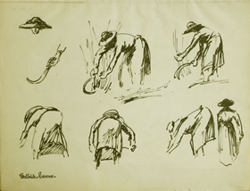 Paulémile Pissarro - P.07 Sketchbook