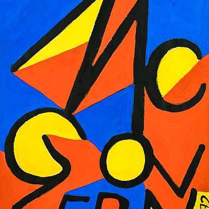 McGovern - Alexander Calder (1898 - 1976)