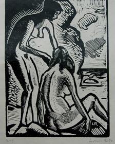 Ludovic-Rodo Pissarro - Bathers