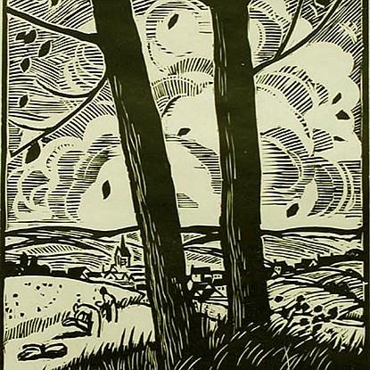 La Vallée - Ludovic-Rodo Pissarro (1878 - 1952)