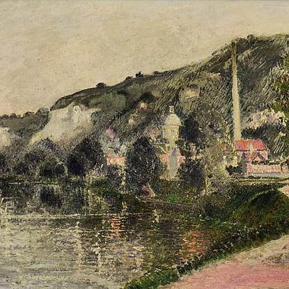Brume et Soleil du Matin (The Seine at Les Andelys) - Georges Manzana Pissarro (1871 - 1961)