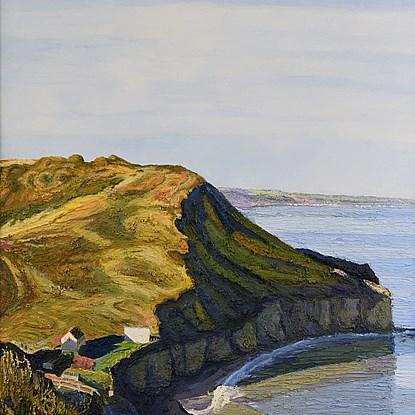 La Falaise - Hugues dit Pomié Pissarro (b. 1935)