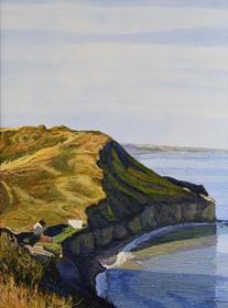 Hugues Pissarro dit Pomié - La Falaise