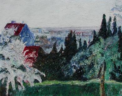 Hugues Pissarro dit Pomié - Pignon Bleu - Mareil