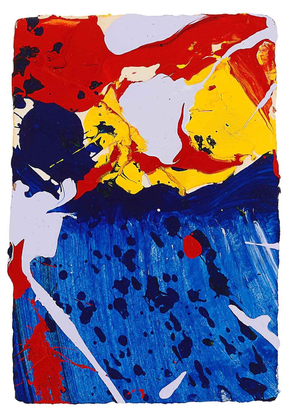 Sklye - Sam Francis (1923 - 1994)