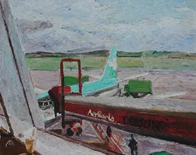 Hugues Pissarro dit Pomié - Dublin Airport