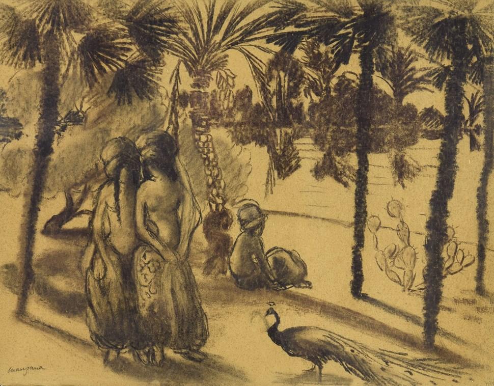 La Promenade - Georges Manzana Pissarro (1871 - 1961)