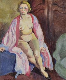 Ludovic-Rodo Pissarro - Nue Assise