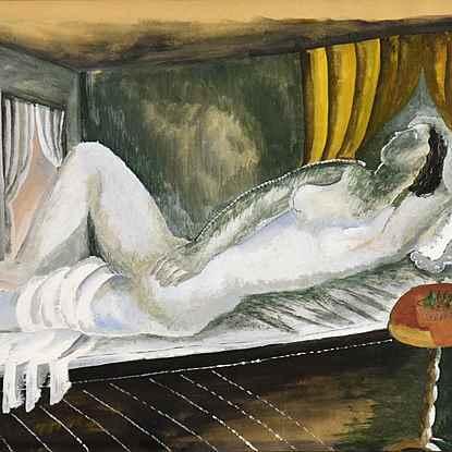 Reclining Nude - Ossip Zadkine (1890 - 1967)