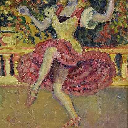 Danseuse au Tabarin - Ludovic-Rodo Pissarro (1878 - 1952)