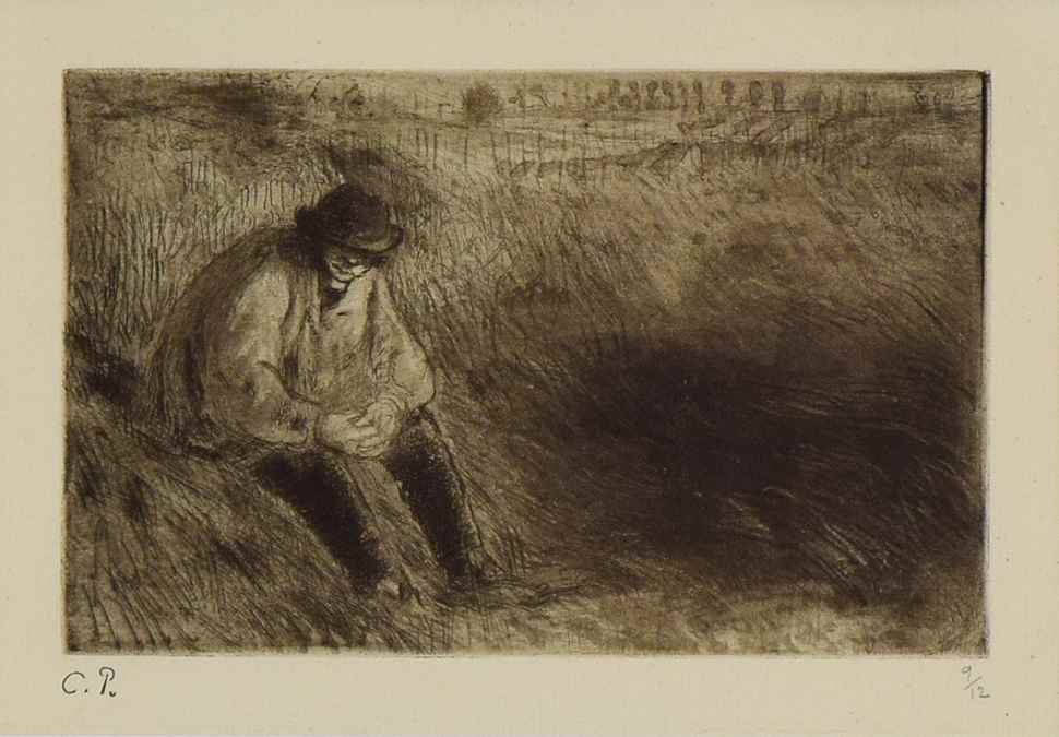 Paysan, Le Père Melon - Camille Pissarro (1830 - 1903)