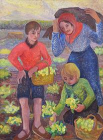 Orovida Pissarro - Spring (Primrose Gathering)