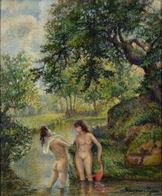 Georges Manzana Pissarro - Bathers