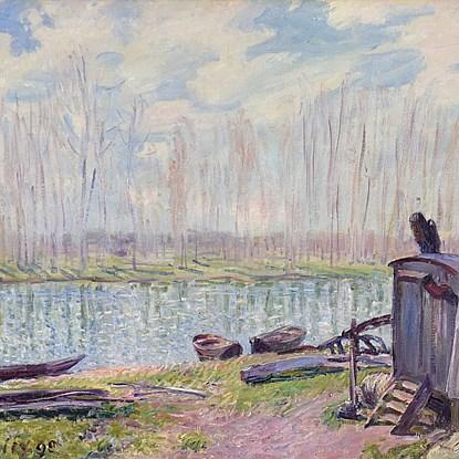 Alfred Sisley - Alfred Sisley (1839 - 1899)
